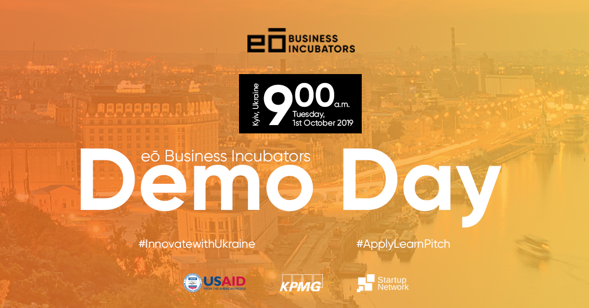 eō Business Incubators announces First Demo Day in Ukraine