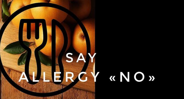 Photo - Say allergy