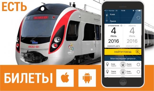 Фото - Продажи электронных железнодорожных билетов через мобильное приложение
