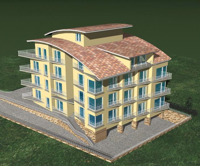 Фото - Строительство 4-х этажного 16 квартирного ECO жилого дома