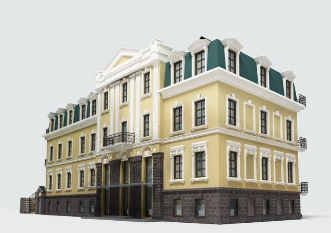 Фото - Реконструкция здания в историческом центре Полтавы