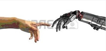 Photo - Keyboardless input of smart hand. PostCOVID interfaces