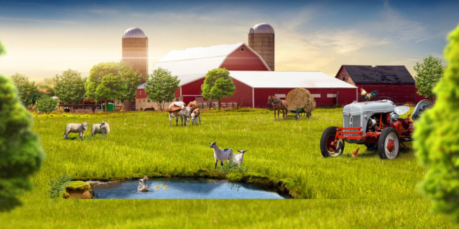 Фото - Фермерского хозяйство, 100 га земли, озеро, ангар