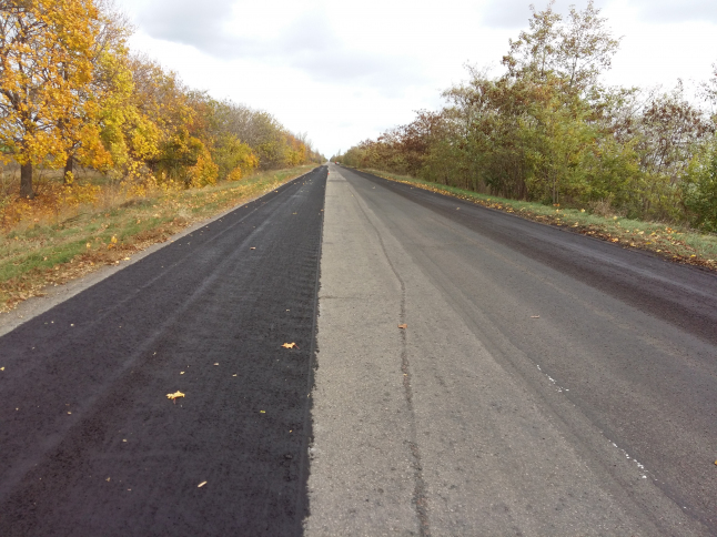 Фото - Восстановление свойств дорожного покрытия.