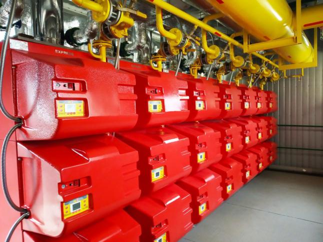 Фото - Газовая котельная (производства тепла и горячей воды)