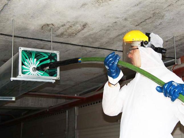 Фото - Обслуживание вентиляционных систем
