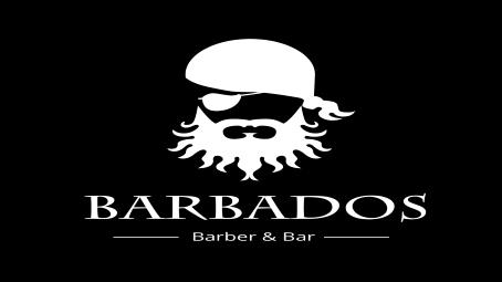 Фото - Мужская парикмахерская с баром.