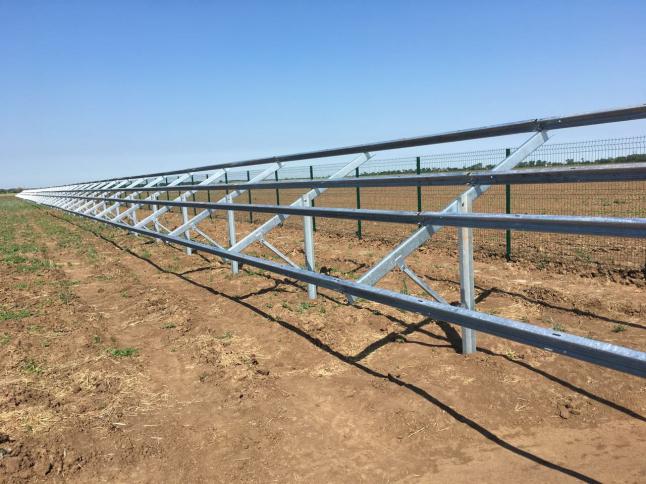 Фото - Строительство солнечной электростанции на 5,1МВт в Херсоне.