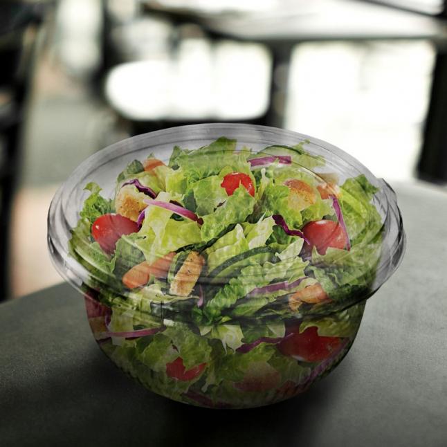 Фото - Открытие фреш салат бара