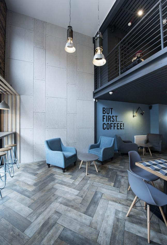 Фото - Современная модна кофейня