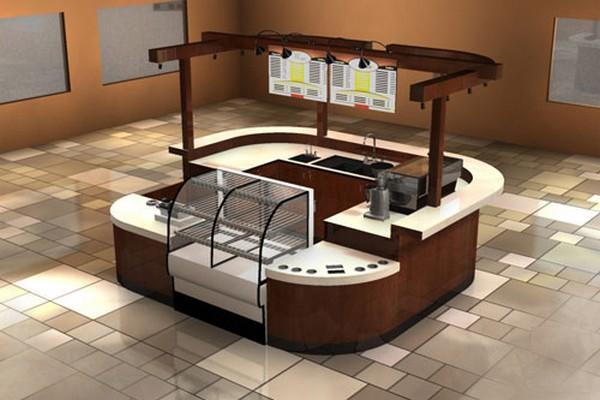 Фото - Сеть кофейных островков в ТЦ