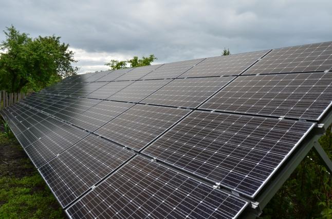 Фото - строительство солнечных электростанций мощностью до 30 кВт
