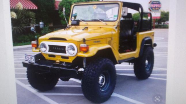 Фото - TOYOTA fj40 Kit-Car