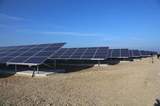 Фото - Создание солнечной электростанции в Геническом районе
