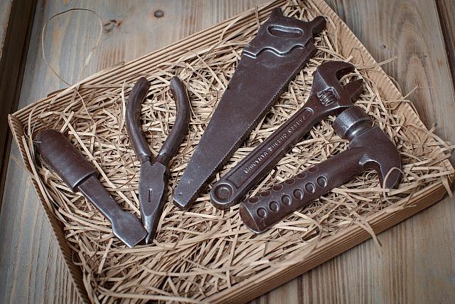 Фото - Изготовление сувенирного шоколада