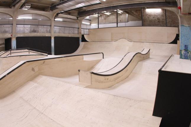 Фото - открытие скейт парка