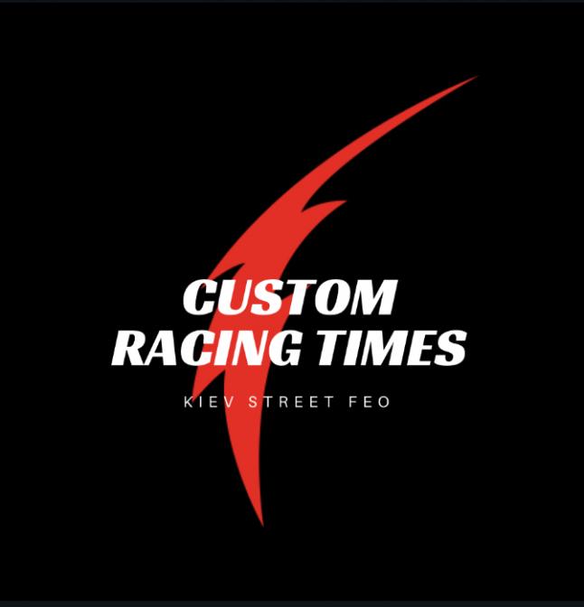 Фото - custom racing times