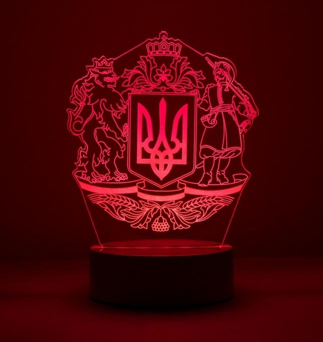 Фото - Производство 3D LED lamp с патриотическим дизайном