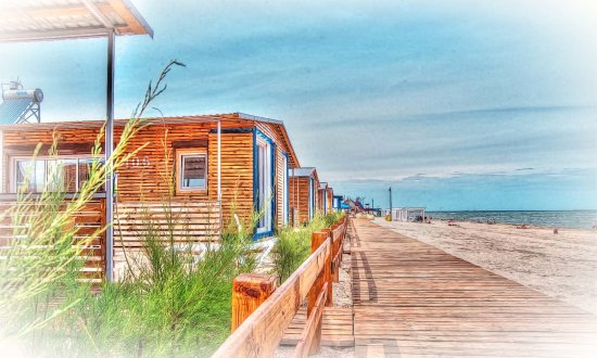 Фото - База отдыха на берегу Азовского моря.