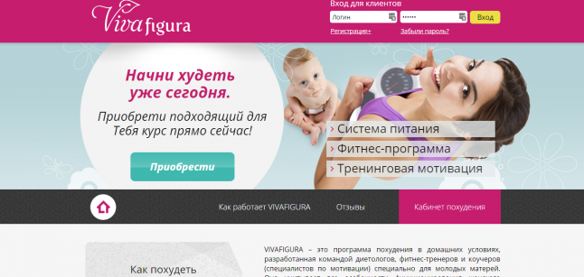 Программа похудения в домашних условиях