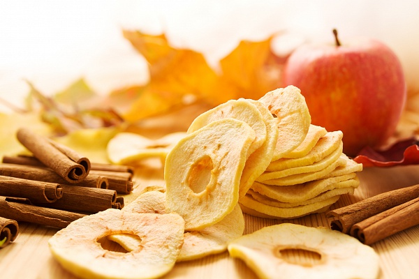 Фото - Виробництво яблуних чіпсів, сухофруктів.