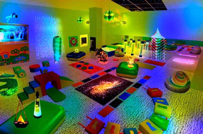 Фото - инклюзивная сенсорная комната