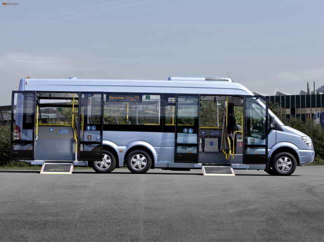 Фото - Автобус Mercedes-Benz Sprinter