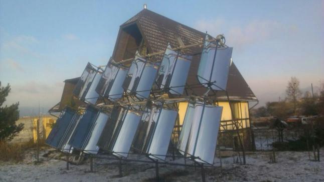 Фото - Использование солнечной энергии для отопления и ГВС