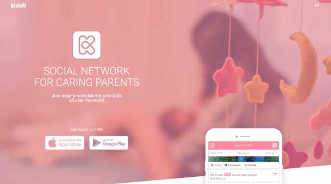 Kiddli - Uber for Parenting