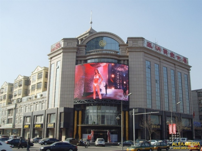 Фото - Светодиодные рекламные экраны
